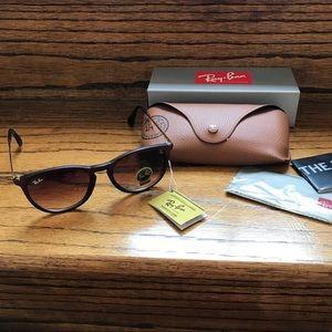 Matte brown sunglasses